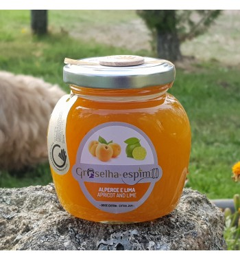 Apricot and Lime Jam