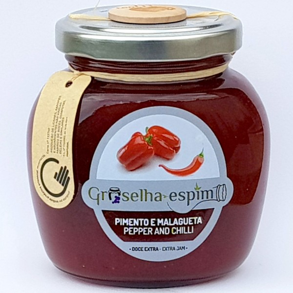 Pepper and Chilli Jam