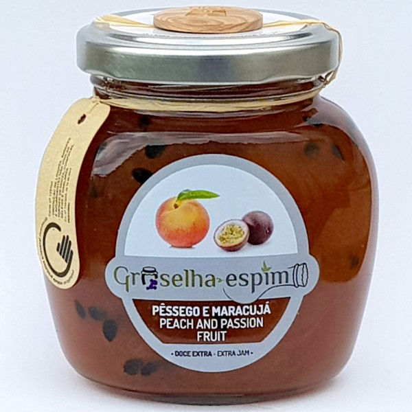 Peach and Passion Fruit Preserve