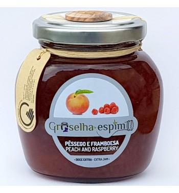 Peach and Raspberry Preserve