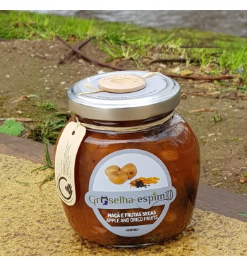 Apple and Dried Fruits Chutney